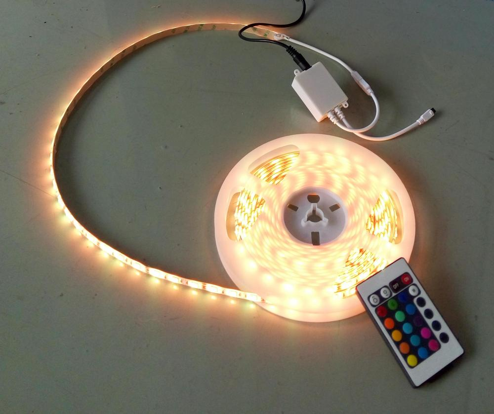 5050 RED Flexibla LED Strip Light