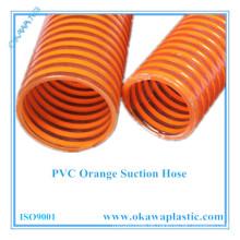 PVC Orange Saugschlauch für Industrie und Landwirtschaft