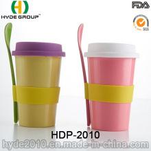 2016 novo estilo de café portátil de fibra de bambu (HDP-2010)
