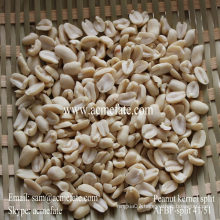 organic blached Peanut Kernel split 25/29
