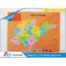 Puzzle de carte de mousse EVA magnétique en Chine