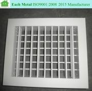 Good quality powder coating aluminum air conditioner louver