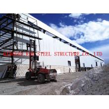Workshop de pré-fabricados de aço estrutural