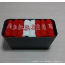 (BC-G1001) Presente promocional Toalha de Terry com caixa de armazenamento