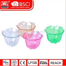 NEW!! Eco-friendly PP material flower sharpe salad Bowl Set