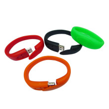 Massive Selection for for China Bracelet Usb Flash Drive, Full Colors Bracelet Usb Flash Drive, Oem Bracelet Usb Flash Drive manufacturer Flexible Wholesale 4gb 8gb USB Flash Drive supply to Denmark Factories