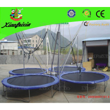 4 Person Round of Bungee Trampoline