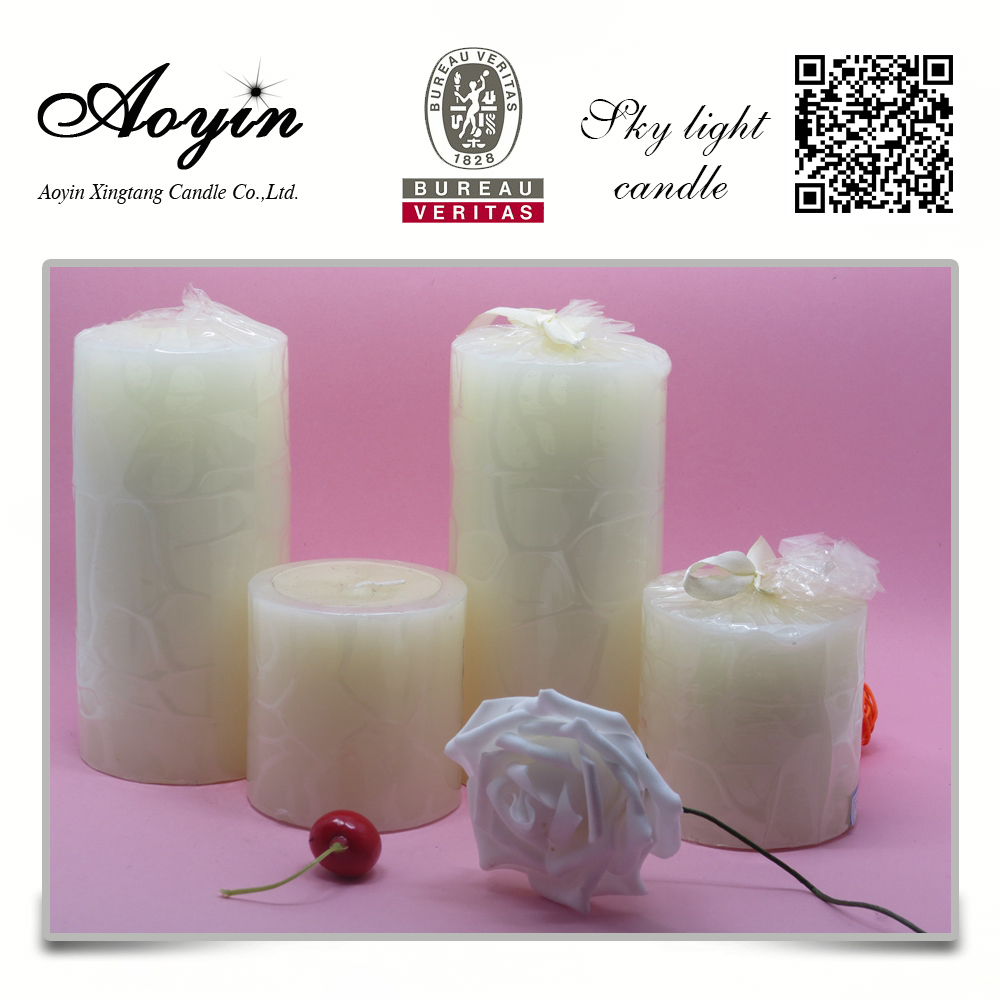 votive pillar candle
