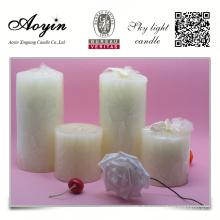 7,5cm bougies de décoration de maison parfumées ivoire