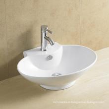 Bassin de l'art de la salle de bain ovale Prix concurrentiels 8020