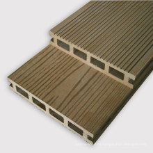 Decking hueco compuesto plástico de madera