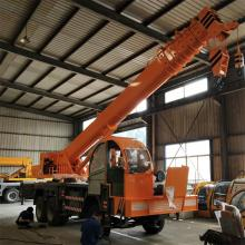 25 Ton Telescopic Boom Truck Mounted Crane