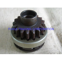 Iron / Aluminum / Steel Fatigue Resistance Motorcycle Engine Part Starter Gear Assy