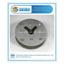 Plaque de couverture de molybdène de grande pureté de vente directe d'usine pour la zone chaude de four croissant de saphir