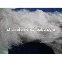 Fabricante profesional Dehaired Cashmere Fibre Brown 16.5mic 28-30mm