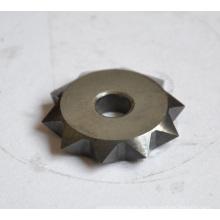 Engrenagem profunda do punho do cargo do carboneto de tungstênio com 10 dentes