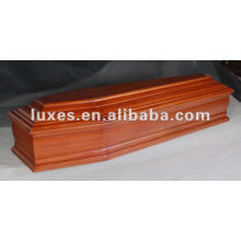 Professional european wooden coffin