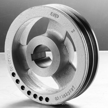 OEM Gray Iron Pulley Machining for Farm Tractor