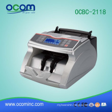 OCBC-2118: banknote money bill counter machine with function of value mix currency counter