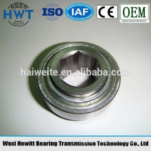 W208PP21 agricultural bearing,hexagonal hole bearing,non-standard bearing