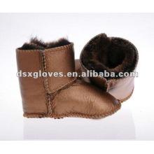 Zapatos de bebé de cuero