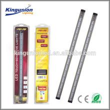 LED touch sensitive rigid bar