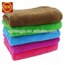 micro fiber coral fleece wiping rags towel