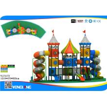 Terrain de jeux en plein air en plastique pour Park Amusement