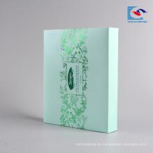 Alibaba precio de fábrica barato mascarilla cosmética caja de almacenamiento de embalaje