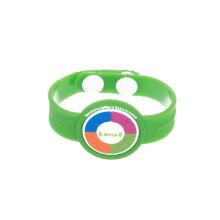 Preço feito sob encomenda do punho de Rfid do bracelete do PVC NFC da impressão