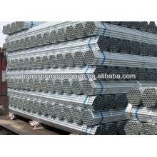 Tubulação de aço galvanizada Hot-dipped ERW