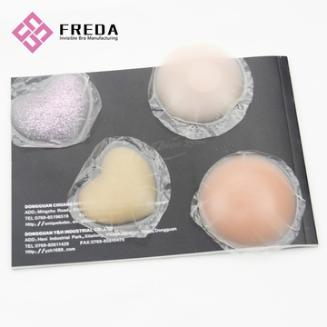 Customized  Shape And Color Silicone Breast Covers