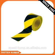 Gelbes und schwarzes oder rotes und weißes Polyethylen individuell bedrucktes Barrikadenband