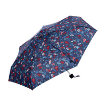 Topumbrella Happy Anti UV Sun & Rain Mini Windproof plegable paraguas para mujeres