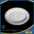 2016 new style 10 inch china porcelain plate for hotel restaurant