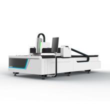 Jinan steel metal IPG 2000W fiber laser cutting machine cutting iron carbon steel