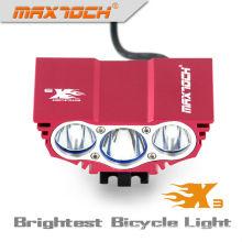 Maxtoch номер Х3 3000lm Сид 4*18650 аккумуляторная интеллектуальный светодиодный велосипед свет