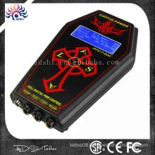 Hot sale hurricane tattoo power supply with wirelss foot pedel