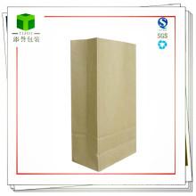 Подгонянный химически сырцовый материал квадратный нижний бумажный мешок