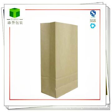 Kundenspezifische chemische Rohmaterial-quadratische untere Papiertüte