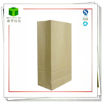 Customized Chemical Raw Material Square Bottom Paper Bag