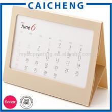 fournisseur fiable personnalisé toute l'impression de calendrier