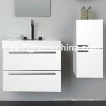 Australia High Gloss Painting MDF Bathroom Wall Hung Vanity