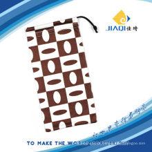 Impresso Microfiber bolsa para telemóvel