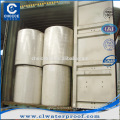 Reinforced needle punched polyester mat for bitumen membrane