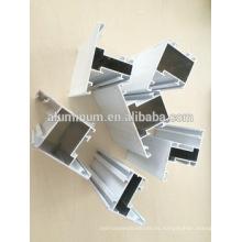 Perfiles de aluminio recubiertos en polvo