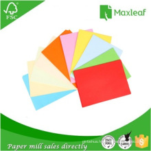 A4 Fluorescent Color Copy Paper 75GSM Printing Paper
