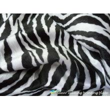 Listra de Zebra moda lenço impresso