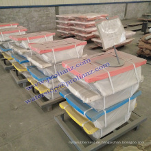 Charpy Birdge Potlager für Viadukt-Konstruktionen nach Malaysia