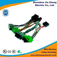 Arnés de cable de la asamblea de cable M8 a M12 con el conector